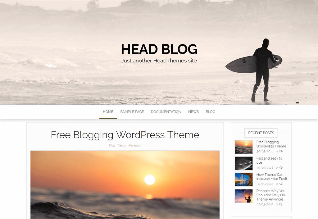 Head Blog