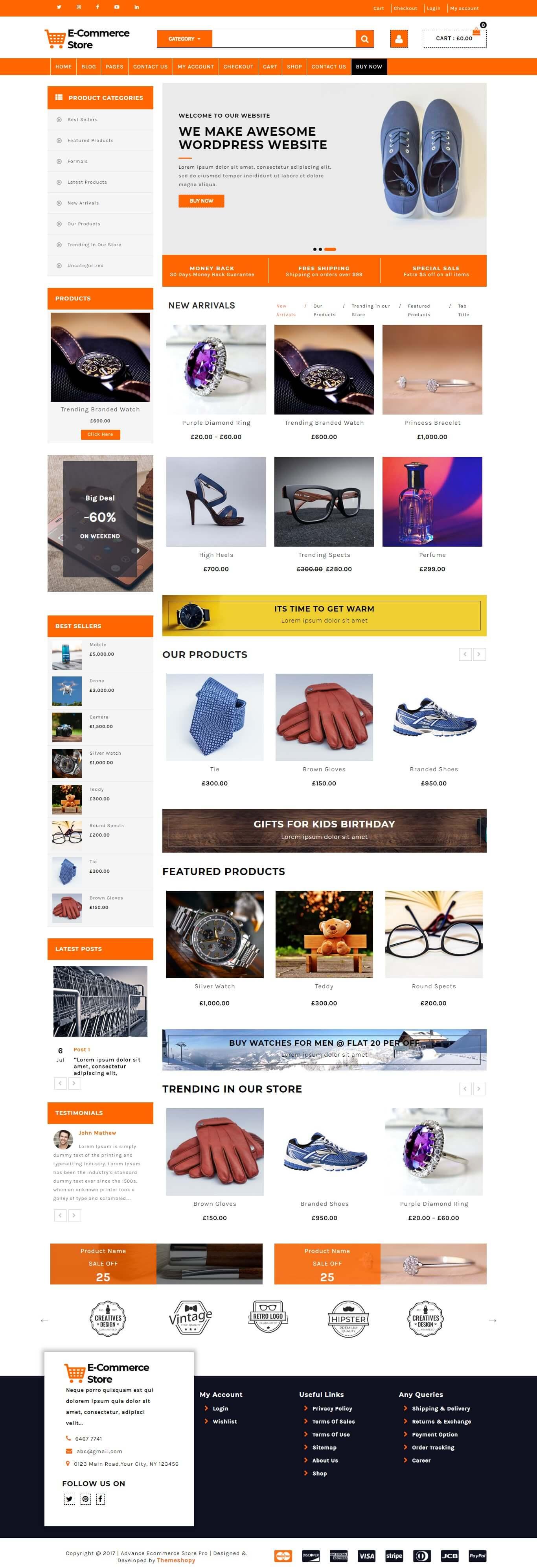 Advance Ecommerce Store