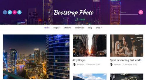 Bootstrap Photo