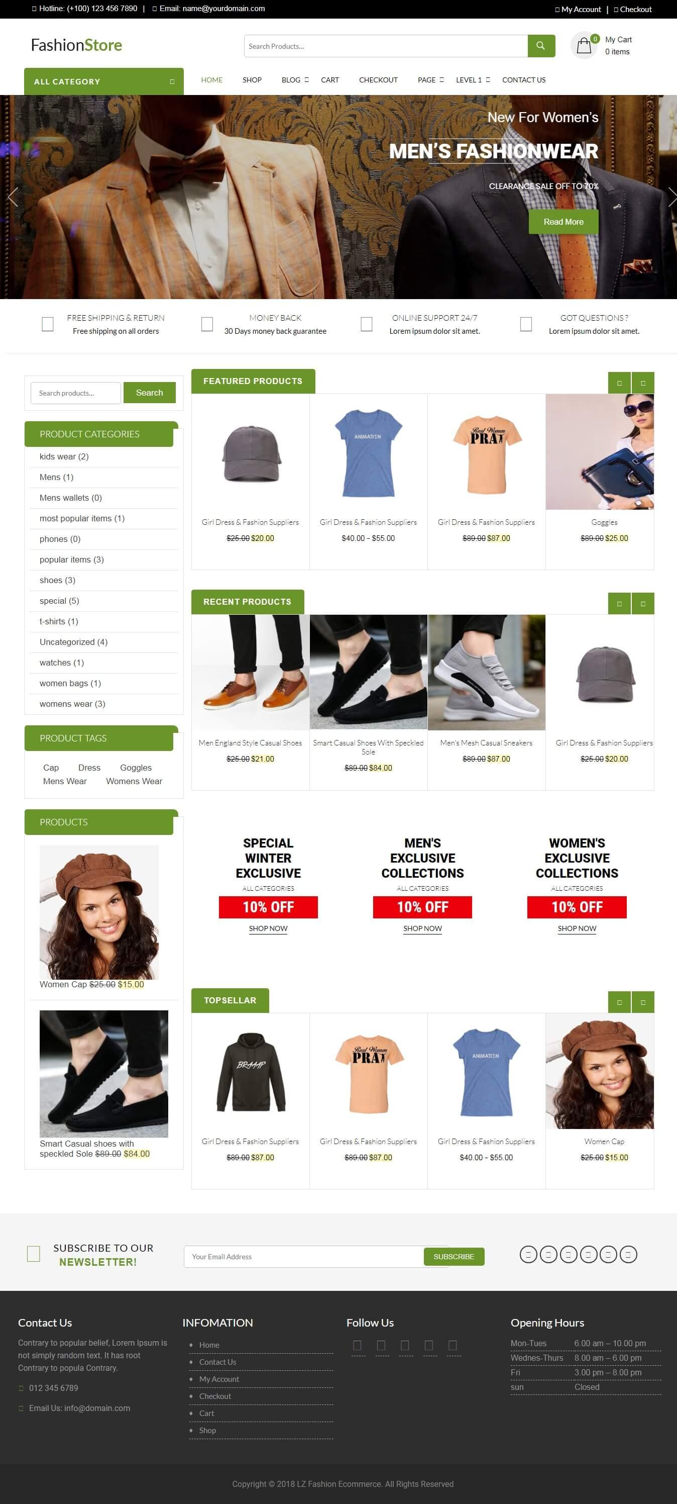 LZ Fashion Ecommerce