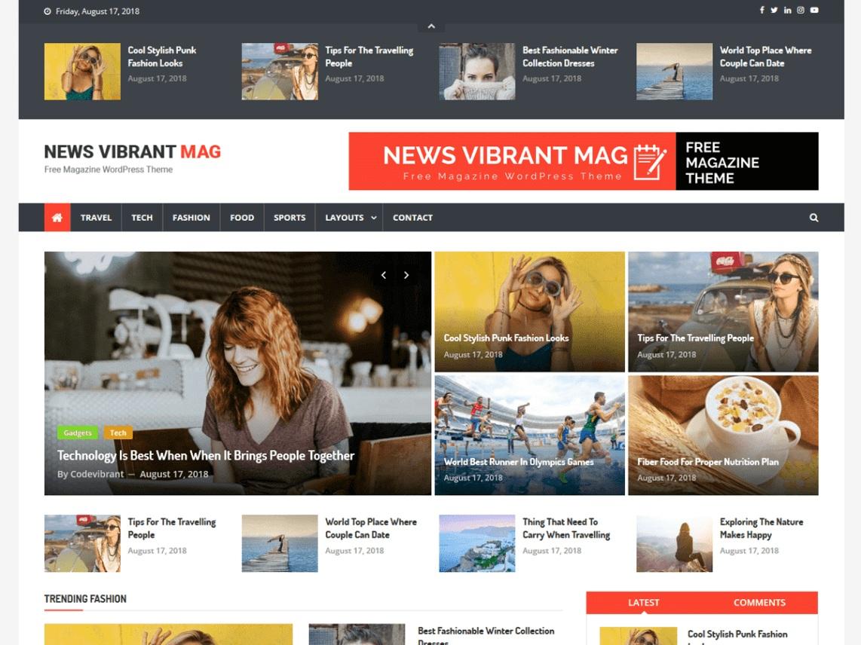 News Vibrant Mag
