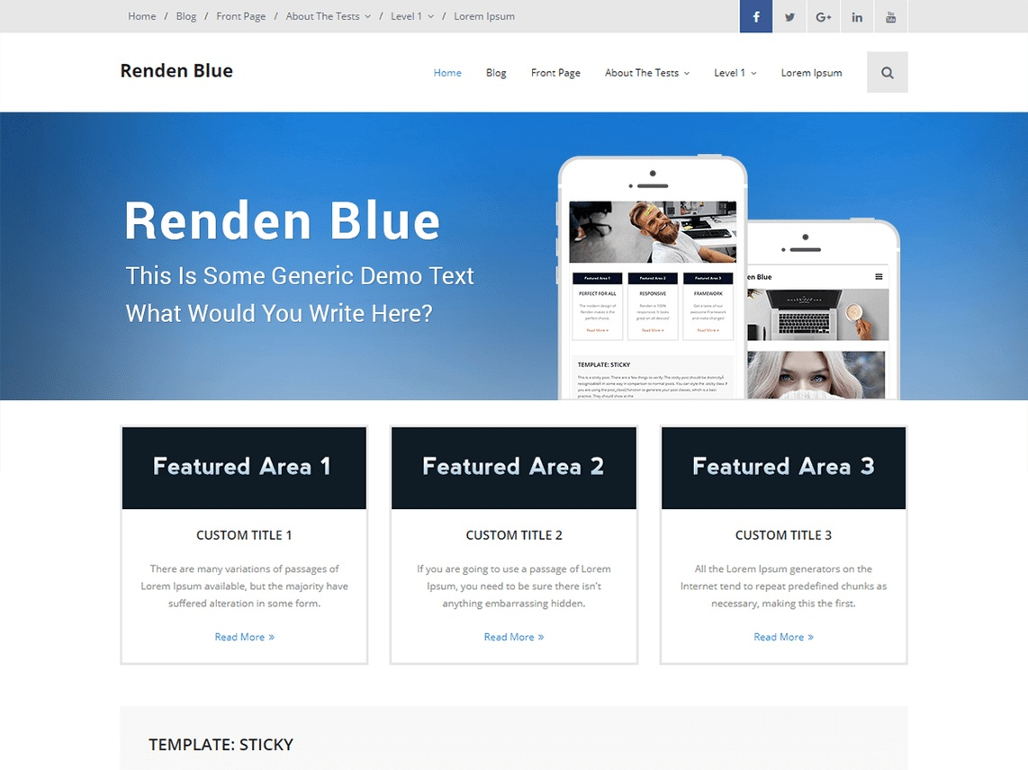 Renden Blue