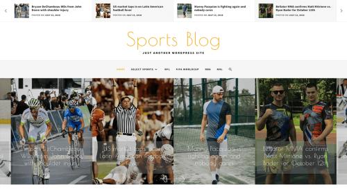 Sports Blog