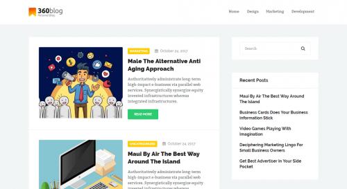 ThreeSixtyBlog Lite