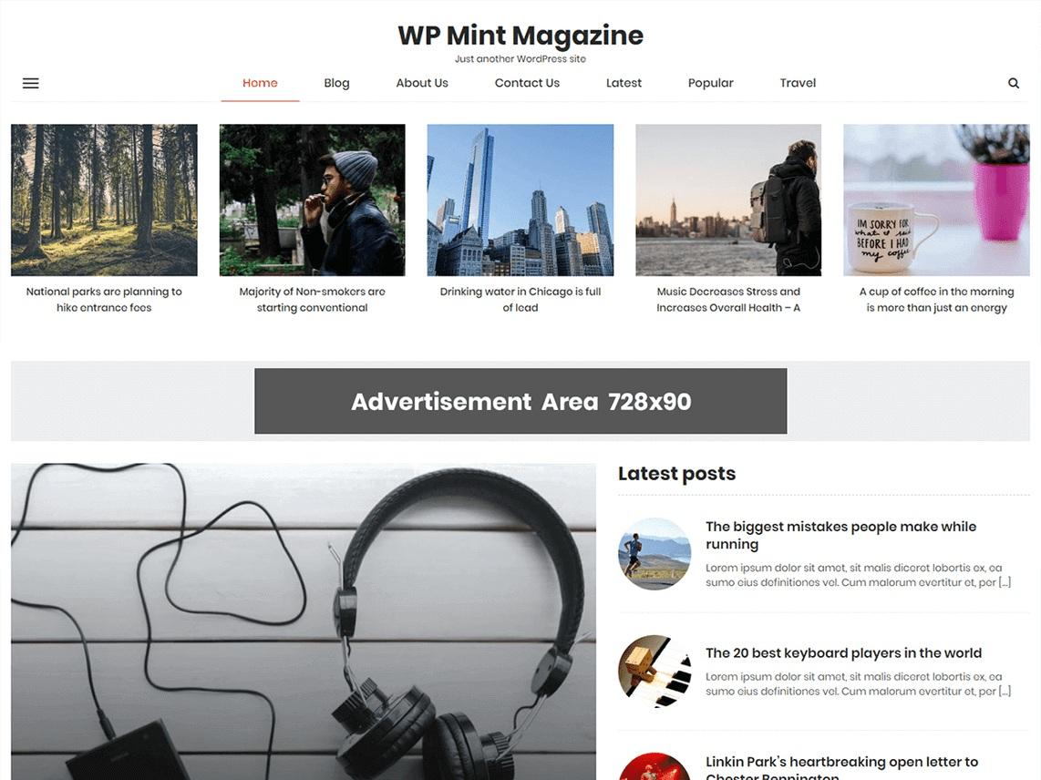 WP Mint Magazine