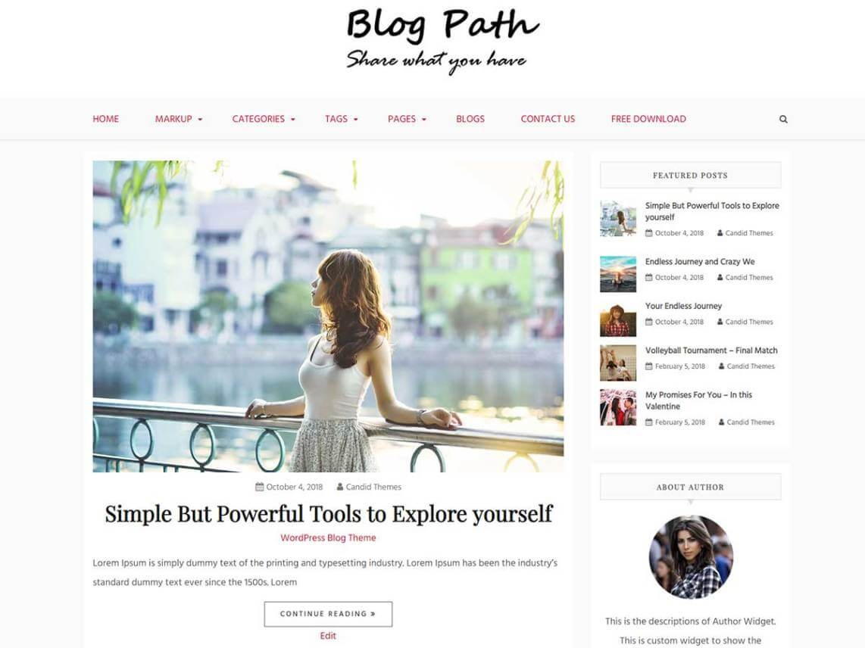 Blog Path