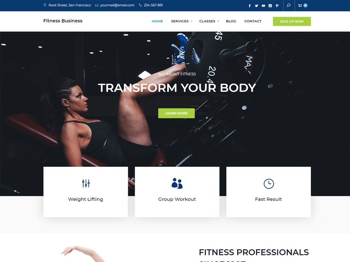 Fitness Business