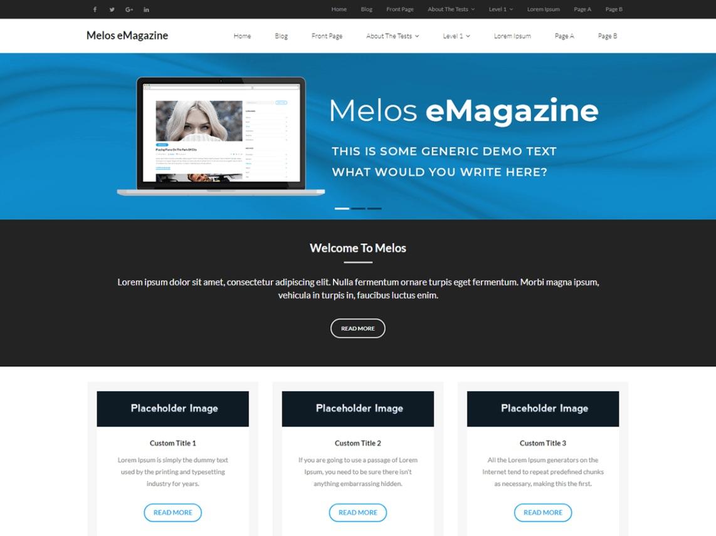 Melos eMagazine