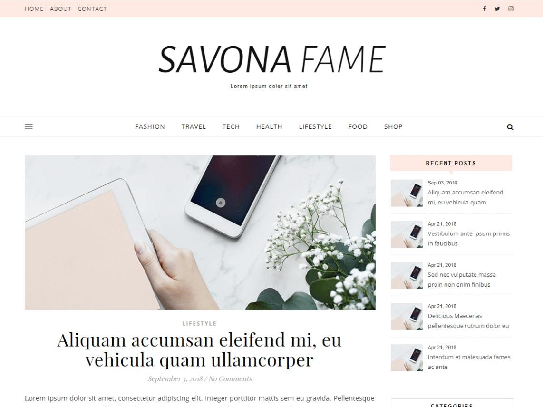 Savona Fame