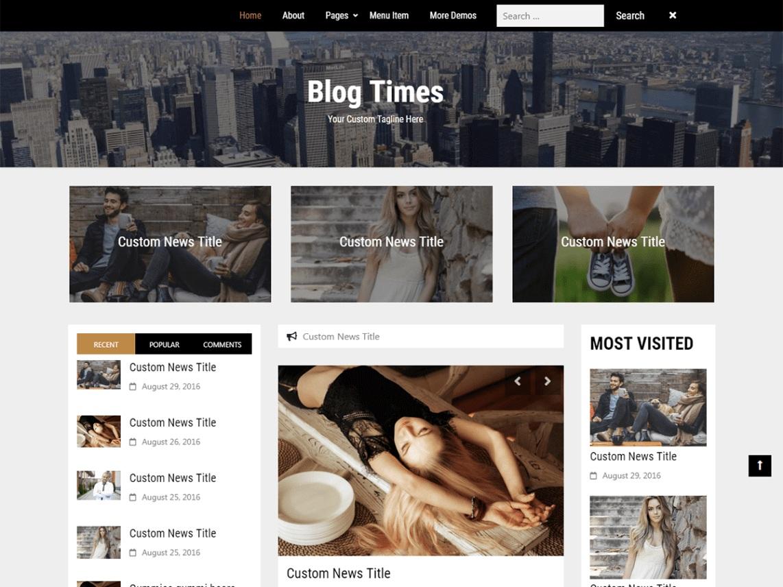 Blog Times