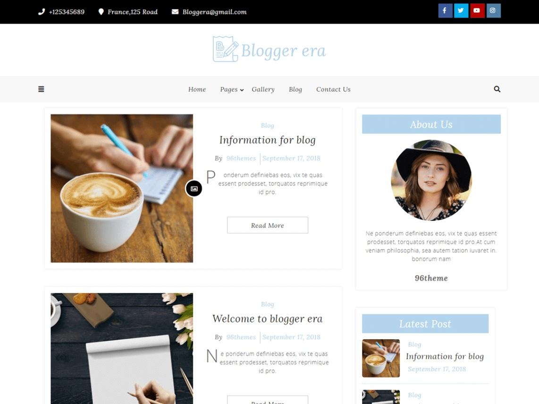 Blogger Era