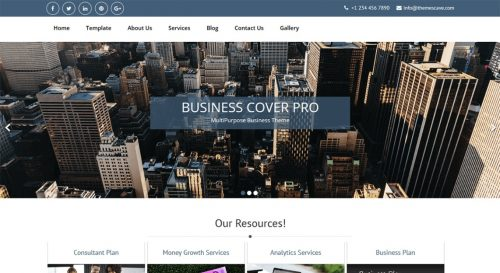 Business Cover Lite