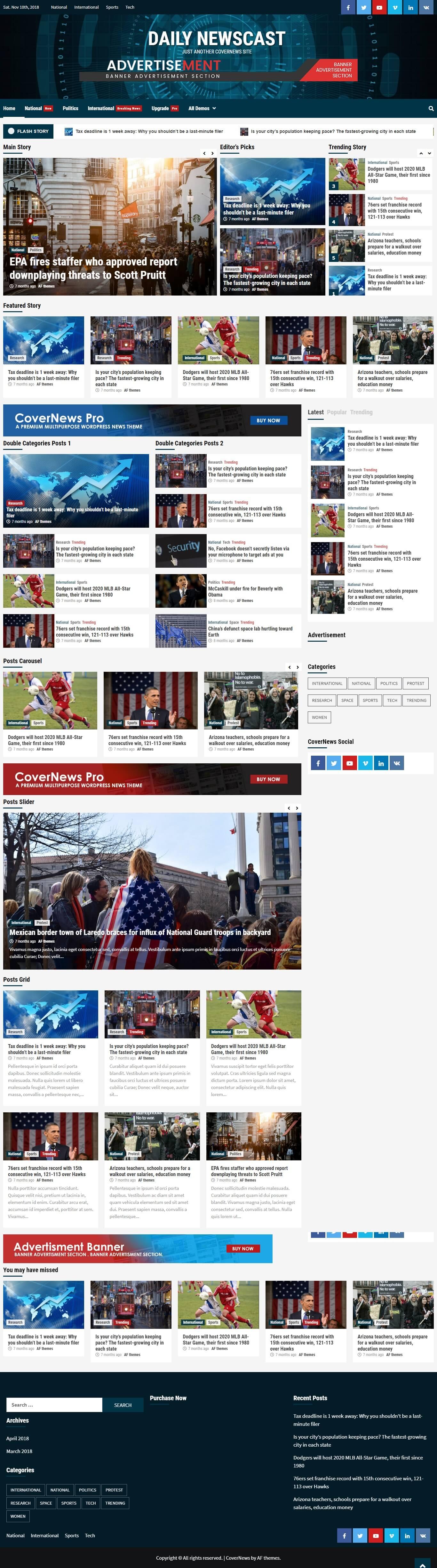 Daily Newscast