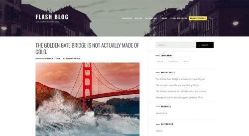 Flash Blog