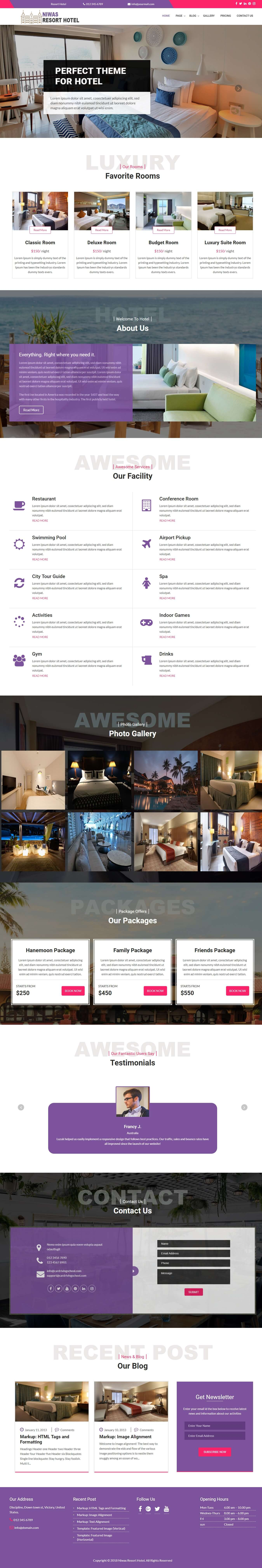 Niwas Resort Hotel