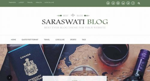 Saraswati Blog
