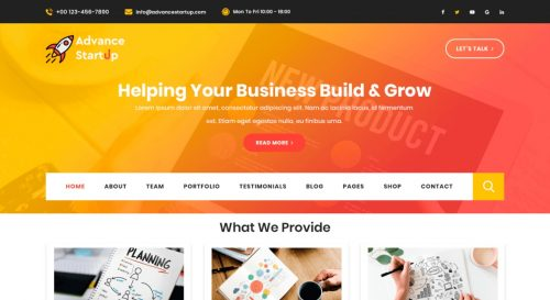 Advance Startup