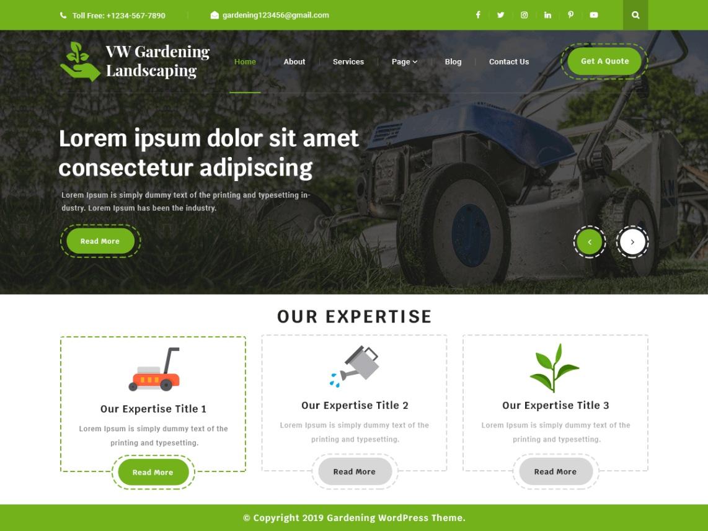 VW Gardening Landscaping