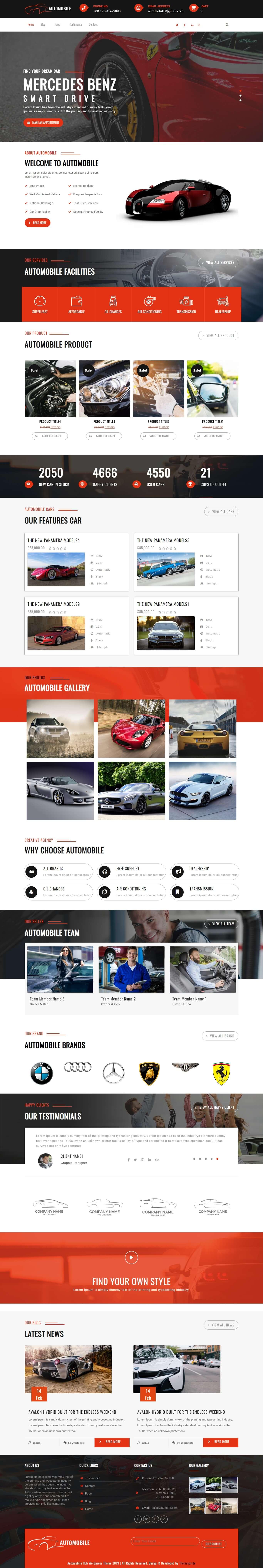 Automobile Hub